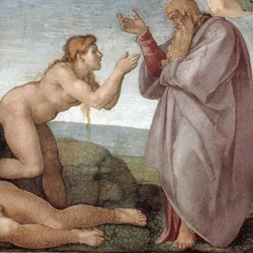 Michelangelo Creatie Eva